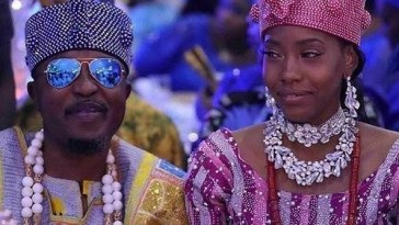 Oluwo Of Iwo Announces The End Of His Marriage To Jamaican Olori Chanel