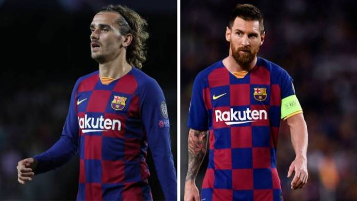 Antoine Griezmann To Leave Barcelona For EPL Club Over Messi's Return