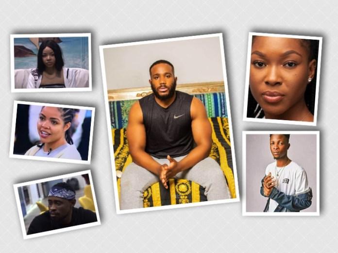 BBNaija: Kiddwaya, Laycon, Nengi, Lucy, Vee, Trickytee Up For Possible Eviction