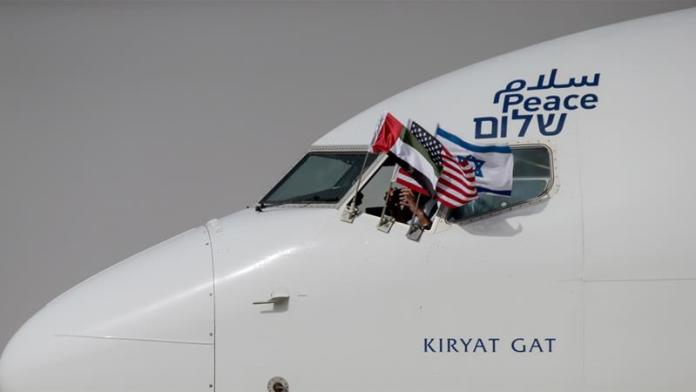 First-ever Flight From Israel Lands In UAE