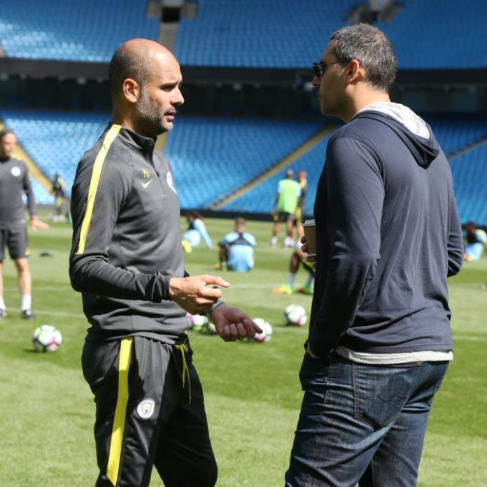 Guardiola Talks To Man City Chairman Khaldoon Al-Mubarak About Koulibaly