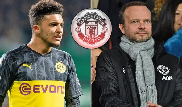 Report Confirms Man Utd Chief Ed Woodward Has Sent New Bid For Jadon Sancho