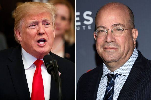Listen To Leaked Audio Of CNN Chief Jeff Zucker Praising Trump, Offering Him A Weekly Show On The Network