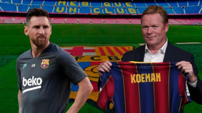 What Koeman Told Messi Privately After Barcelona Return Has Been Revealed