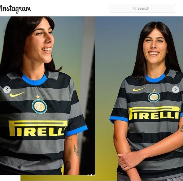 Pictures Of Inter Milan 2020-21 Nike Third Kit