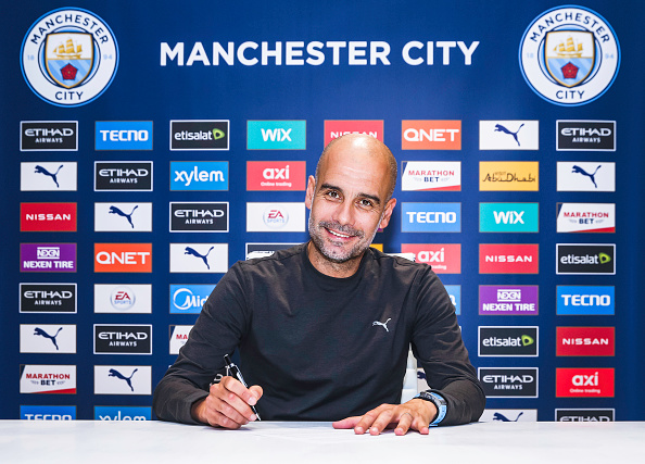 Pep Guardiola Shuts Down Speculations, Signs New Man City Contract