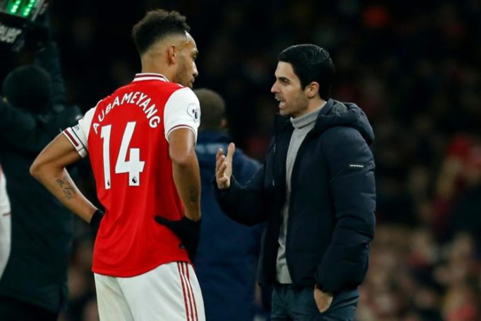 Reasons Why Arsenal Boss Arteta Can't Play Aubameyang Centrally Revealed