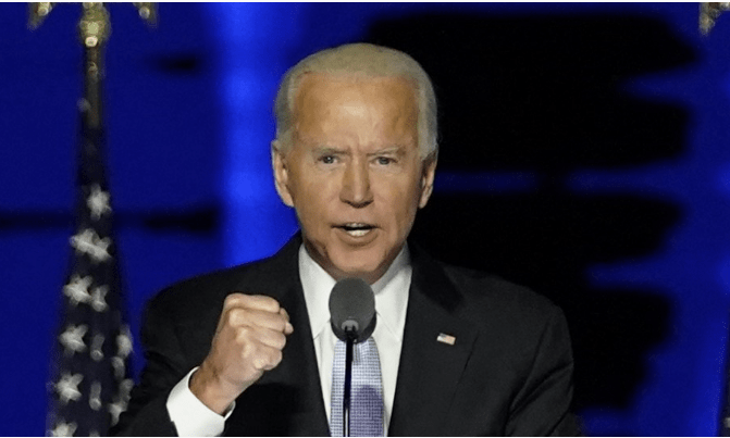 Joe Biden Promises To Unite America As Gives Victory Speech