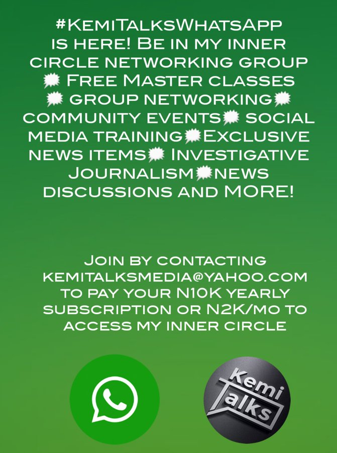 Kemi Olunloyo Launches Nigeria's First Branded WhatsApp Networking Group