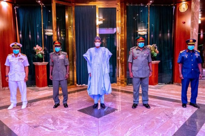 President Buhari Seeks Confirmation From National Assembly For Service Chiefs