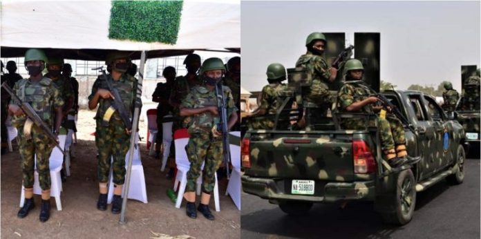 Army Mobilises 300 Female Soldiers To Tackle Bandits On Deadly Kaduna-Abuja Expressway