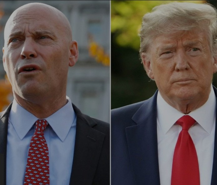 President Trump Bans VP Mike Pence Chief Of Staff, Marc Short From White House