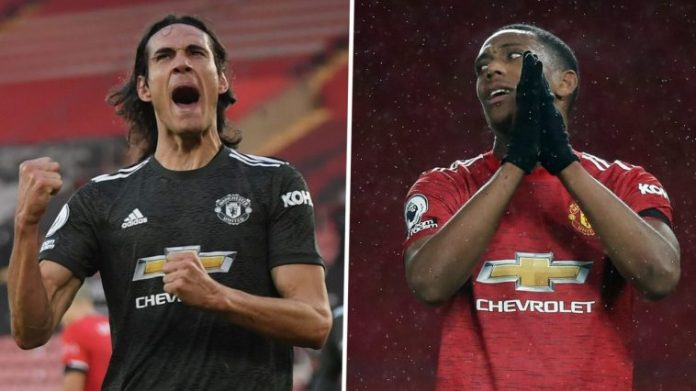 Manchester United To Sign This 'Younger' Version Of Cavani To Replace Anthony Martial