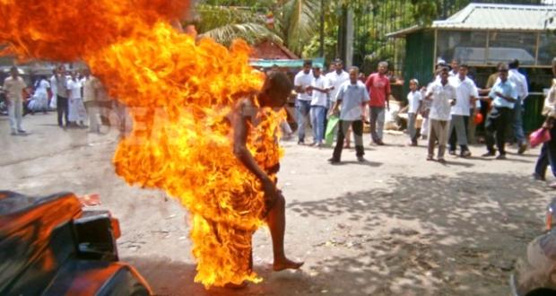 Suspected Thief Burnt Alive In Ibadan