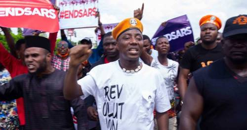 Sowore, Others Arrested, Brutalised In Abuja, Currently Bleeding From The Nose
