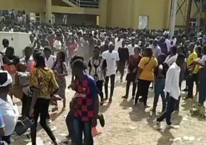 3 Students Suffocates To Death As Thousands Of Students Struggle To Write Exam In EBSU
