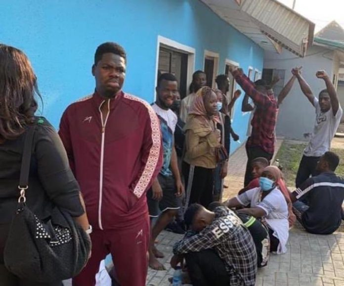 Mr Macaroni, Other #OccupyLekkiTollgate Protesters Get N100,000 Bail From Panti Mobile Court (Photos)