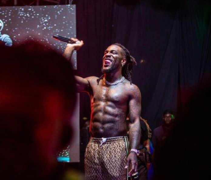 Congrats As Burna Boy's 'Twice As Tall' wins Grammy award