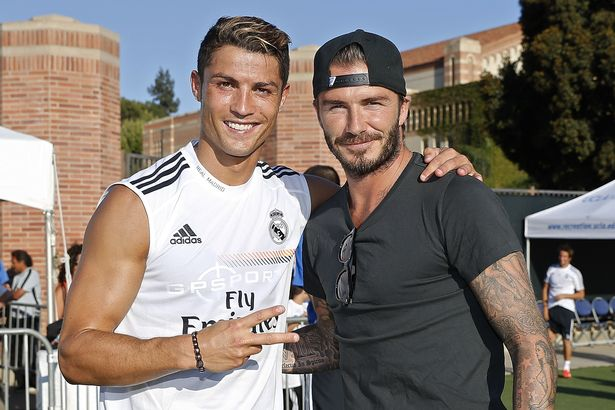 Cristiano Ronaldo Meets With David Beckham Ahead Of Inter Miami Move