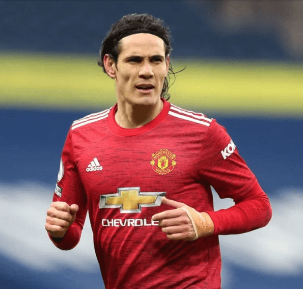 Edinson Cavani Pulls Out from Man Utd squad for Milan clash