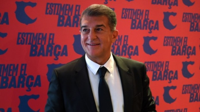Newly Elected Barcelona President Laporta Makes Big Revelation