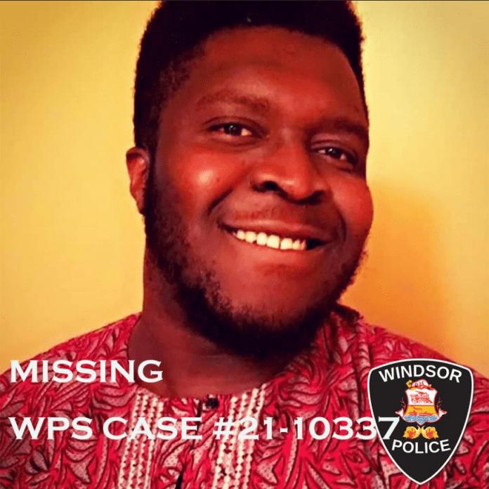 Nigerian man goes missing in Canada
