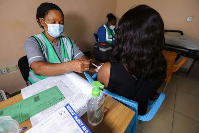 Nigeria's vaccinates 1 Million, Lagos Leads With 203,697