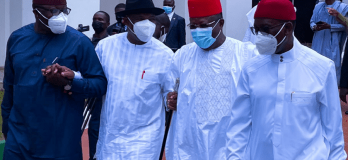 Southern Govs To Meet Buhari After France Trip, To Go Over Asaba Decision