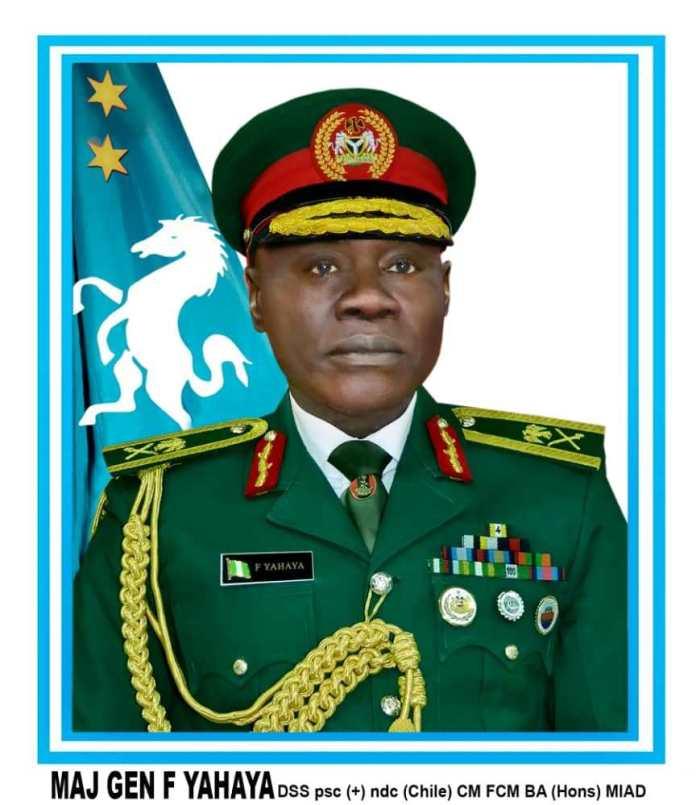 Buhari Picks Major-General Yahaya Farouk As New Chief Of Army Staff (Photo)
