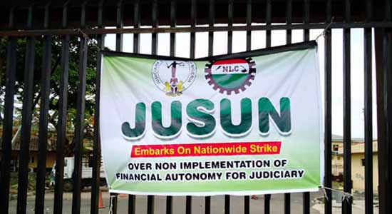 JUSUN Suspends 2 Months' Strike, Courts To Resume Monday