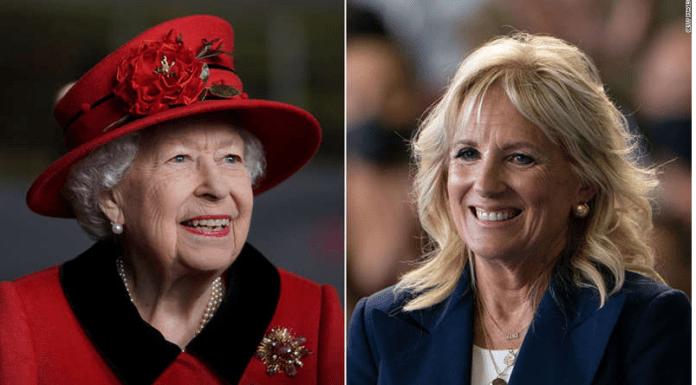 America's First Lady, Jill Biden To Meet The Queen