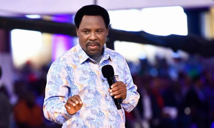 TB Joshua's Wife Not Appointed His Successor, Synagogue Church Denies Reports