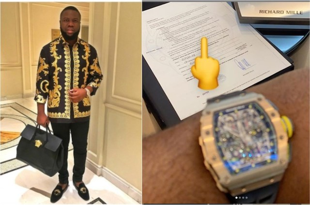 Hidden Story Of RM11-03 Luxury Watch Bought By Hushpuppi