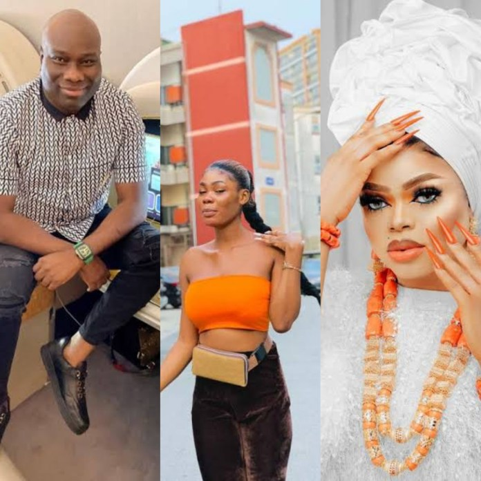 Mompha Threatens To Sue Bobrisky's Ex-PA, Oye For Alleging He Had Sexual Relatiosnhip With The Crossdresser, She Reacts