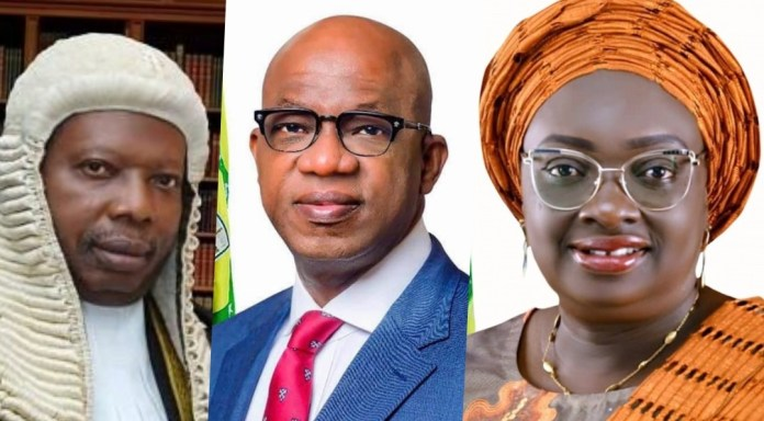 Confusion As Ogun Governor Abiodun, Deputy, House Speaker Relocate Abroad