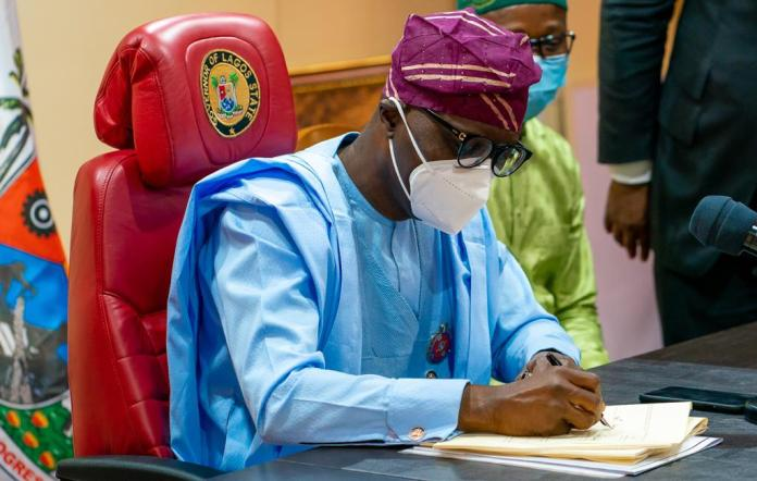 JUST IN: Lagos Governor, Sanwo-Olu Signs Value Added Tax Bill Into Law, Joins Rivers Governor