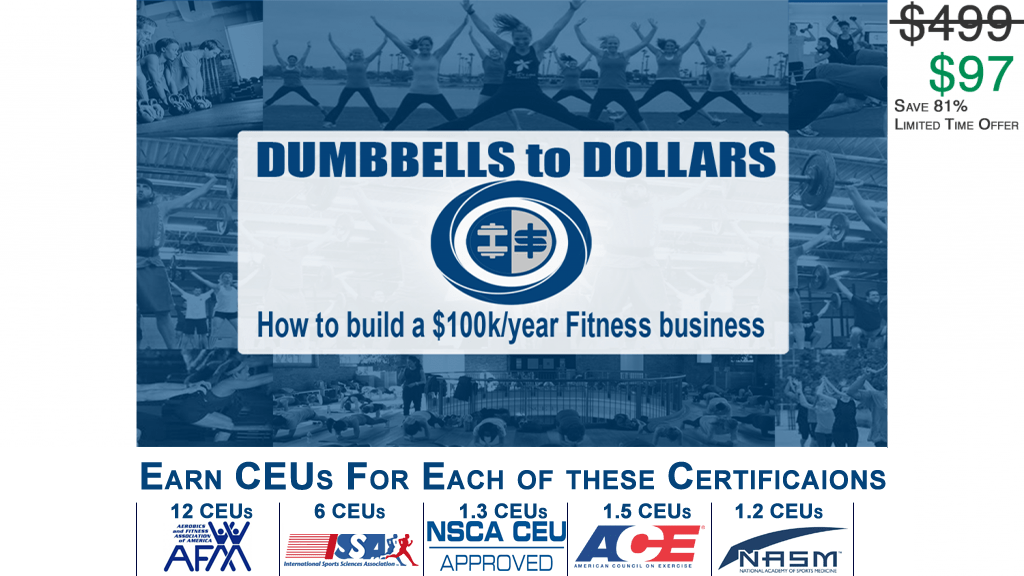 Renew Your Personal Training Certification With This Recertification