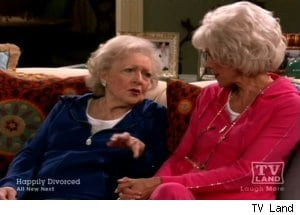 Elka Gives Victoria Pointers on Acting Old on 'Hot in Cleveland'
