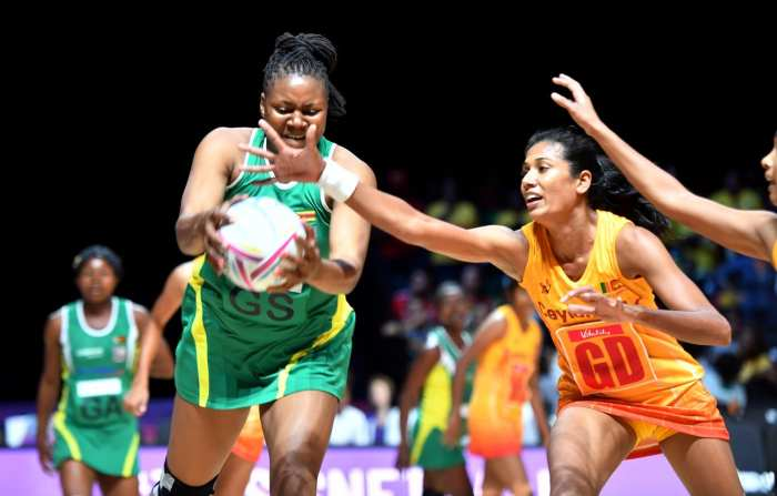 Netball World Cup - Zimbabwe vs Sri Lanka
