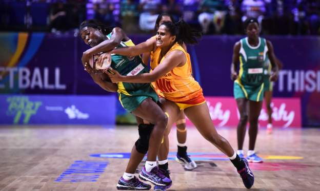 Zimbabwe makes history wins first-ever match at Netball World Cup