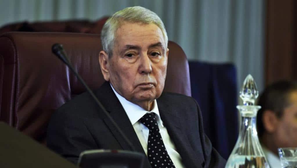 Algeria's former interim president Bensalah dies aged 79