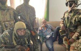 Guinea President Conde arrested