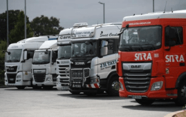 Truck driver shortages in the UK