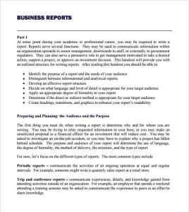 Business report template writing word excel format business report template image flashek Choice Image