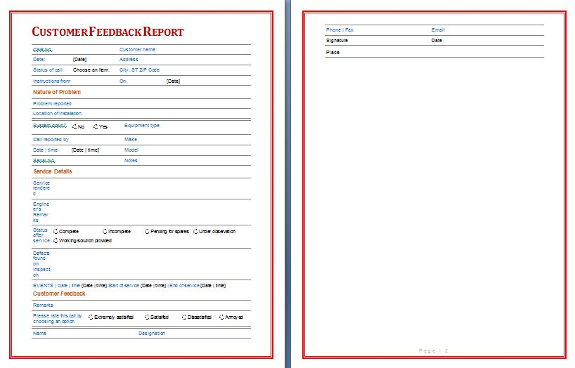 Marketing Reports  Free Report Templates