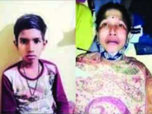 Noida News: People start melting after seeing mother crying, help extended, hope of son's operation