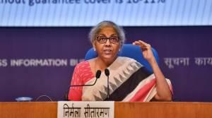 Sitharaman announces Rs 1.1 lakh crore loan guarantee scheme for Covid-hit sector