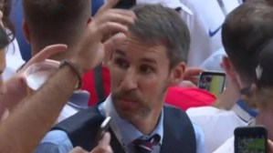 Euro 2020 Semi-final: England manager Gareth Southgate doppelganger spotted at Wembley Stadium