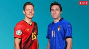 UEFA EURO 2020, Belgium vs Italy Live Score Updates: De Bruyne named in XI, Hazard misses out