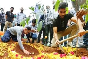 Aamir Khan-Naga Chaitanya Participate In Green India Challenge In Hyderabad